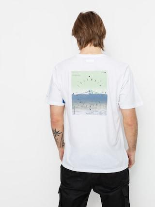 T-shirt Columbia High Dune (white true direction)