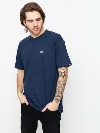T-shirt Vans Left Chest Logo (dress blues/white)