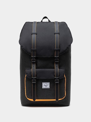 Plecak Herschel Supply Co. Little America (black crosshatch/black/blazing orange)