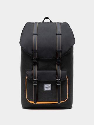 Plecak Herschel Supply Co. Little America (black crosshatch/black/blazing orange)