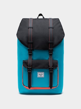 Plecak Herschel Supply Co. Little America (blue bird/black/emberglow)