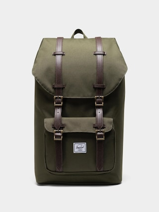 Plecak Herschel Supply Co. Little America (ivy green/chicory coffee)