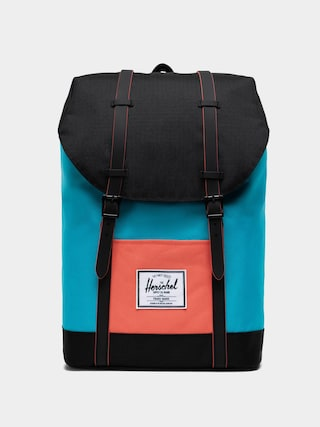 Plecak Herschel Supply Co. Retreat (blue bird/black/emberglow)