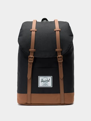 Plecak Herschel Supply Co. Retreat (black/saddle brown)
