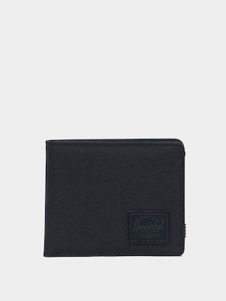 Portfel Herschel Supply Co. Roy Coin RFID (black/black)