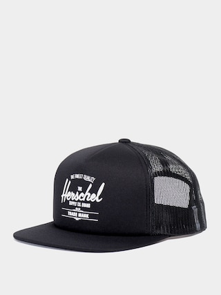 Czapka z daszkiem Herschel Supply Co. Whaler ZD (mesh black)