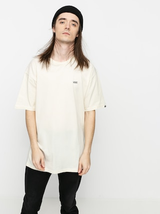 T-shirt Vans Left Chest Logo (seed pearl/black)