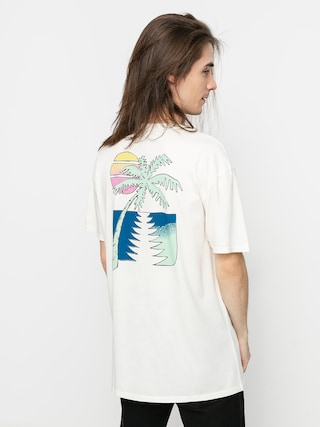 T-shirt Quiksilver Island Pulse (snow white)