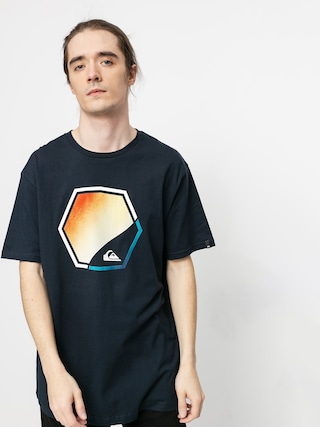 T-shirt Quiksilver Fading Out (navy blazer)