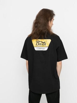 T-shirt Brixton Linwood Stt (black/yellow)