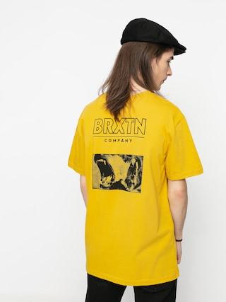 T-shirt Brixton Bite Tlrt (lemon curry)