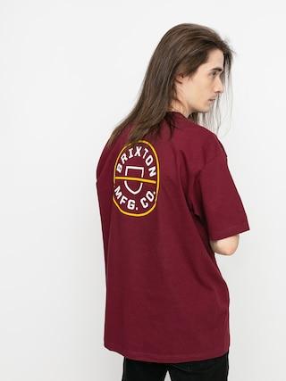 T-shirt Brixton Crest II Stt (cowhide)