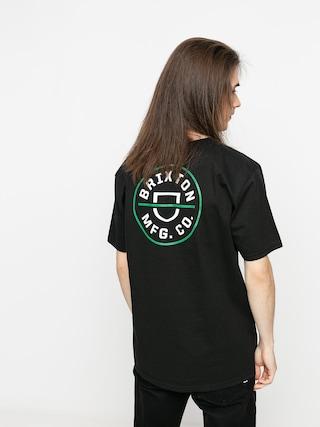 T-shirt Brixton Crest X Stt (black)