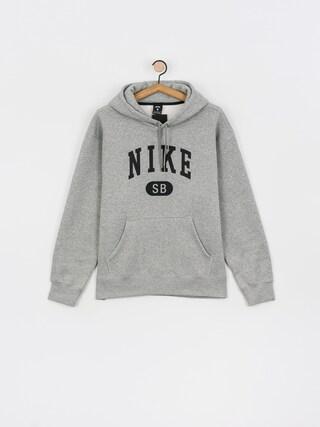 Bluza z kapturem Nike SB Collegiate HD (dk grey heather/black)