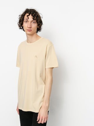 T-shirt Quiksilver Basic Bubble Embroidery (antique white)