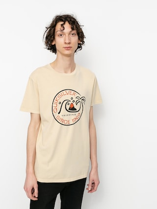 T-shirt Quiksilver Into The Wide (antique white)