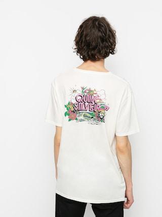 T-shirt Quiksilver Informal Disco (snow white)