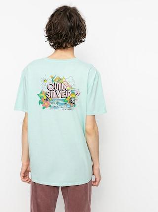 T-shirt Quiksilver Informal Disco (blue tint)