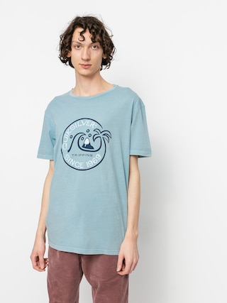 T-shirt Quiksilver Into The Wide (blue heaven)
