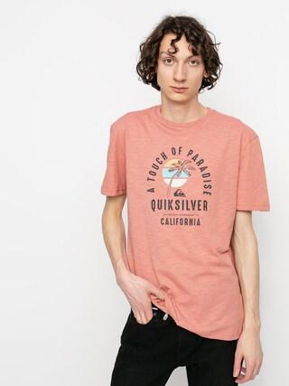 T-shirt Quiksilver Quiet Hour (desert sand)