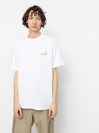 T-shirt Carhartt WIP American Script (white)