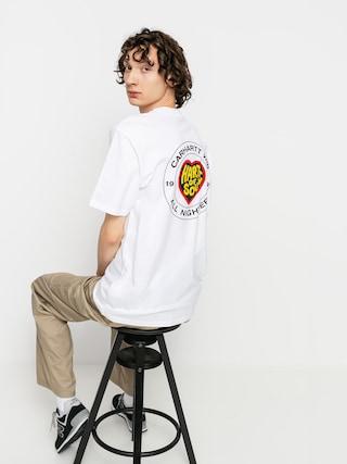 T-shirt Carhartt WIP Hartt Of Soul (white)