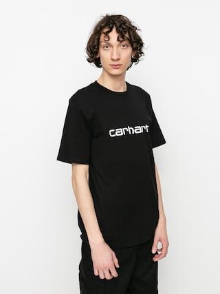T-shirt Carhartt WIP Script (black/white)