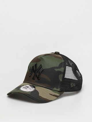 Czapka z daszkiem New Era Clean Trucker New York Yankees ZD (woodland camo/black)