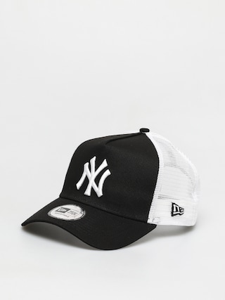 Czapka z daszkiem New Era Clean Trucker New York Yankees ZD (black)