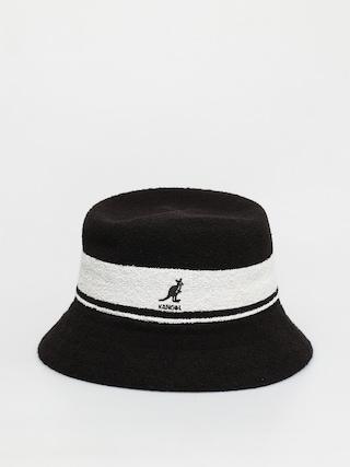 Kapelusz Kangol Bermuda Stripe Bucket (black)