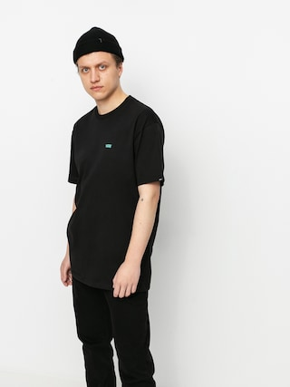 T-shirt Vans Left Chest Logo (blk/waterfall)
