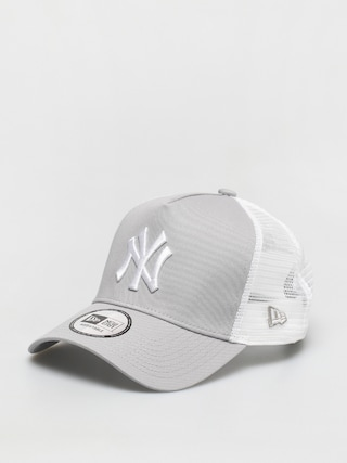 Czapka z daszkiem New Era Clean Trucker New York Yankees ZD (grey)