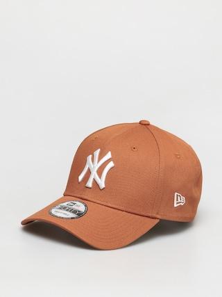 Czapka z daszkiem New Era 9Forty New York Yankees ZD (med brown)