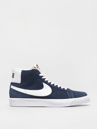Buty Nike SB Zoom Blazer Mid (navy/white black university red)