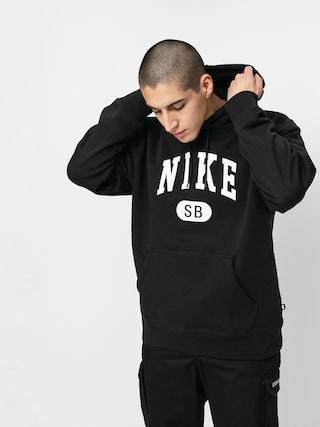 Bluza z kapturem Nike SB Collegiate HD (black/white)
