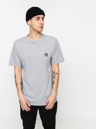 T-shirt Burton Colfax (gray heather)
