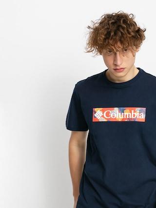 T-shirt Columbia Rapid Ridge (collegiate navy/sky blue framed floral)