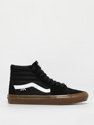 Buty Vans Skate Sk8 Hi (black/gum)