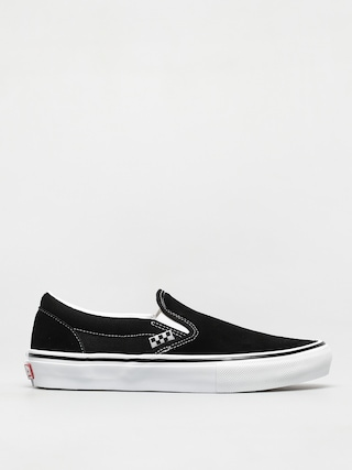 Buty Vans Skate Slip On (black/white)