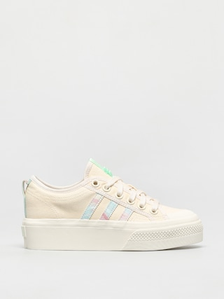 Buty adidas Originals Nizza Platform Wmn (cwhite/cwhite/frogrn)