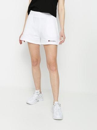 Szorty Champion Regular High Waist Shorts 114354 Wmn (wht)