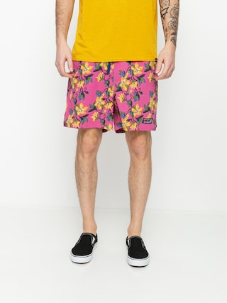 Boardshorty Patagonia Stretch Wavefarer Volley Shorts 16in (squash blossom/marble pink)