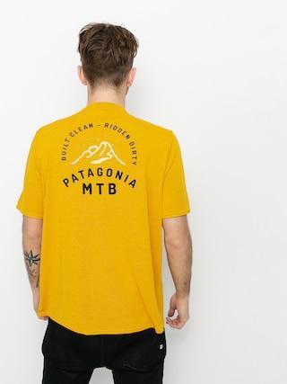 T-shirt Patagonia Cap Cool Daily Graphic (mtb crest/hawk gold x dye)