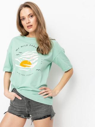 T-shirt Femi Stories Loose Wmn (ptch)