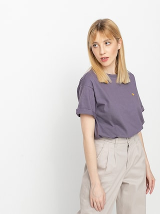 T-shirt Carhartt WIP Chase Wmn (provence/gold)