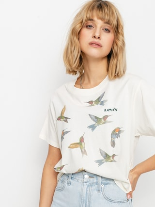 T-shirt Levi's® Graphic Varsity Wmn (placed hummingbirds sugar)