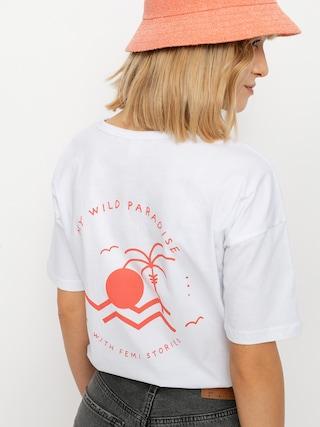 T-shirt Femi Stories Loose Wmn (ecr)