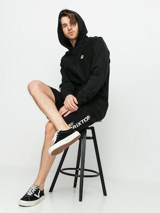 Szorty Brixton Stem Fleece X (black)