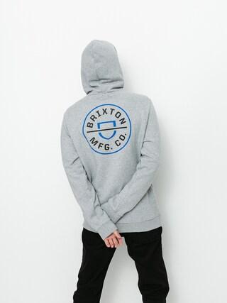 Bluza z kapturem Brixton Crest HD (heather grey)