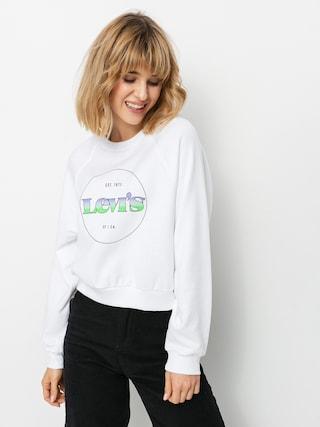 Bluza Levi's® Vintage Raglan Wmn (circle logo gradient white)